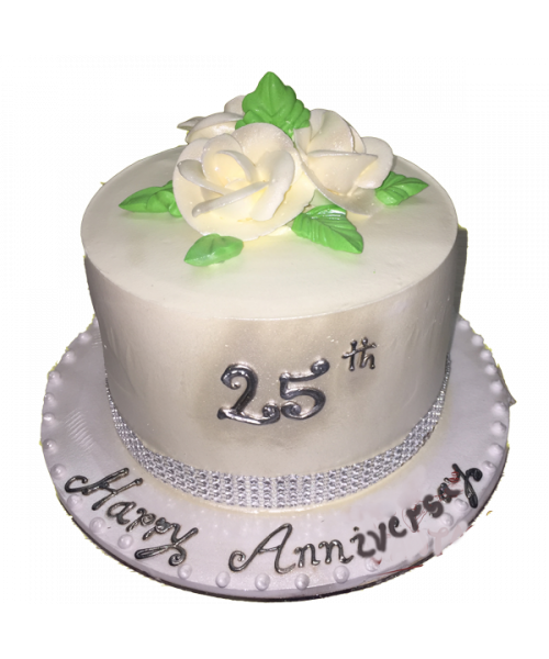25th Occasion Cake