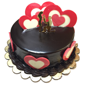 Chocolate Couple Cake