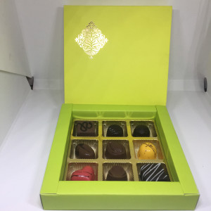 Green 9 Luxury Chocolate Box